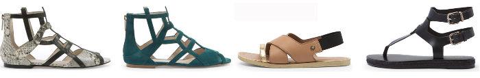 Scarpe Liu Jo collezione donna moda primavera estate sandali bassi