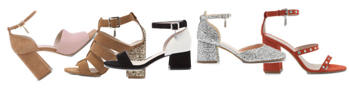 Scarpe Liu Jo collezione donna moda primavera estate sandali con tacco largo
