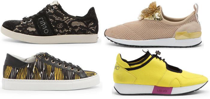 Scarpe Liu Jo collezione donna moda primavera estate sneakers