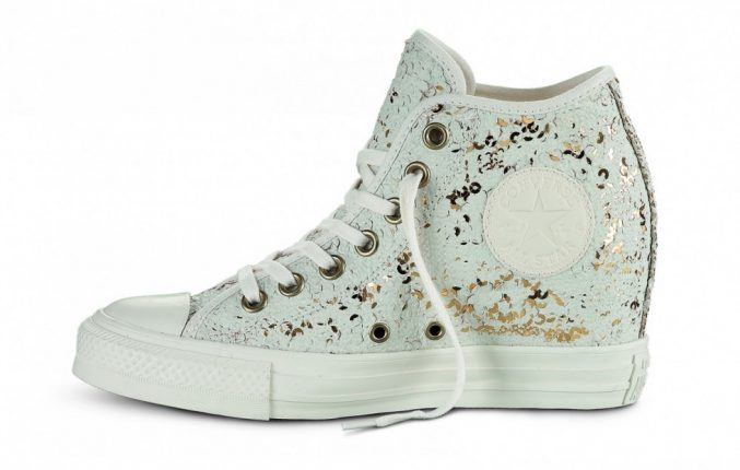 Sneakers Con Zeppa Converse All Star