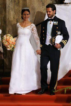 Sofia Hellqvist Matrimonio Con Prince Carl Philip Abito Ida Sjöstedt