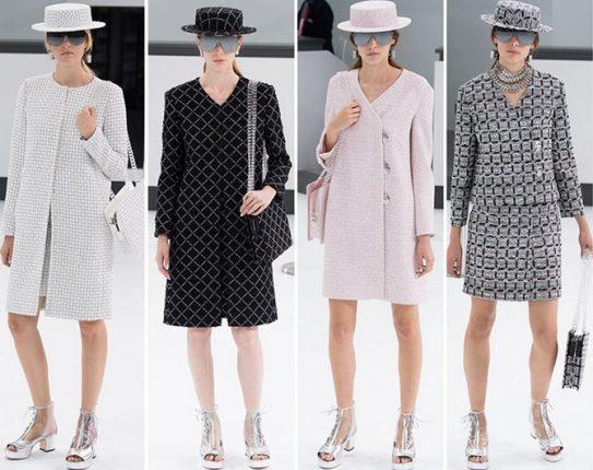 Chanel collezione primavera estate 2016 tailleur