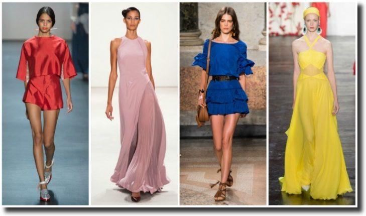 Colori moda primavera estate 2016