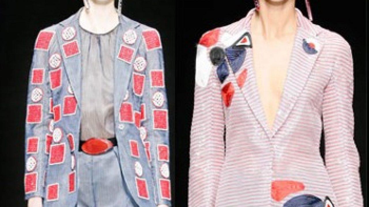 481842deec Giorgio Armani collezione primavera estate 2016 - Abbigliamento ...