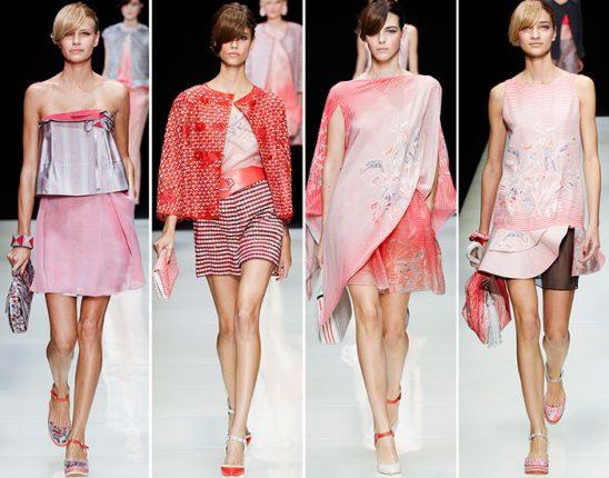 Giorgio Armani primavera estate 2016 abbigliamento
