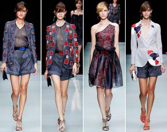 Giorgio Armani primavera estate 2016 moda
