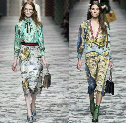 Gucci Primavera Estate 2016 Camicie