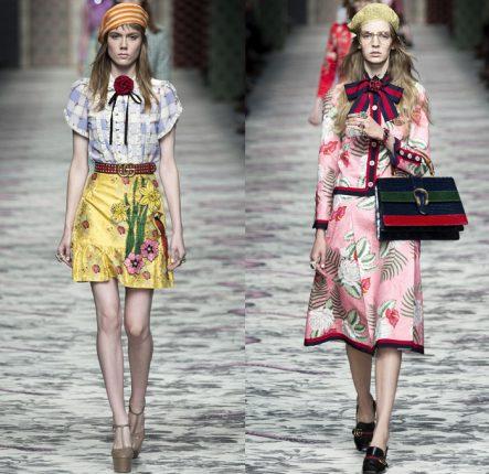 Gucci Primavera Estate 2016 Gonne