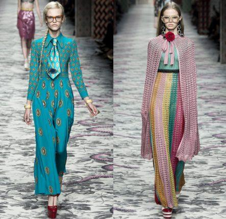 Gucci Primavera Estate 2016 Pantaloni