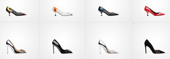 Prada scarpe donna primavera estate 2016 decollete