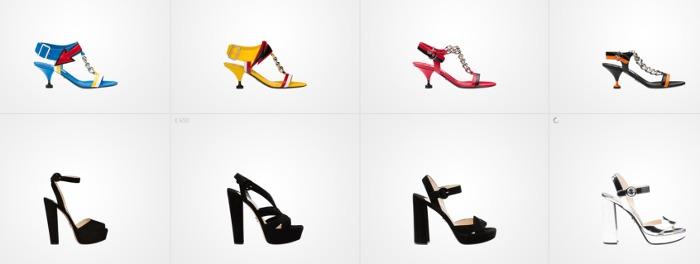 Prada scarpe donna primavera estate 2016 sandali