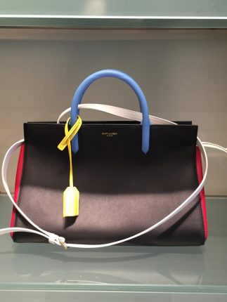Saint Laurent Borsa A Mano Con Traccolla Primavera Estate 2016