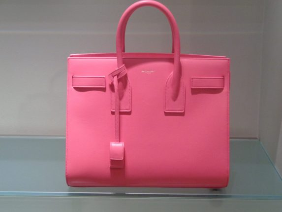 Saint Laurent Borsa Rosa Primavera Estate 2016