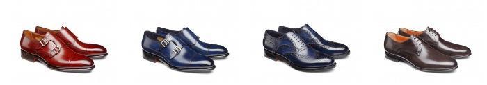 Santoni scarpe uomo catalogo primavera estate 2016