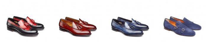 Santoni scarpe uomo collezione primavera estate 2016