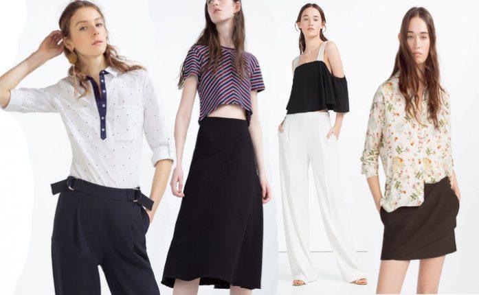 Zara abbigliamento primavera estate 2016