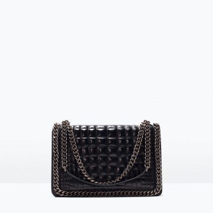 Zara Borse Primavera Estate 2016 Mini Bag Con Catena
