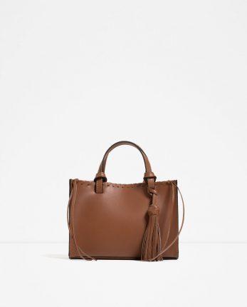 Zara Borse Primavera Estate 2016 Postina