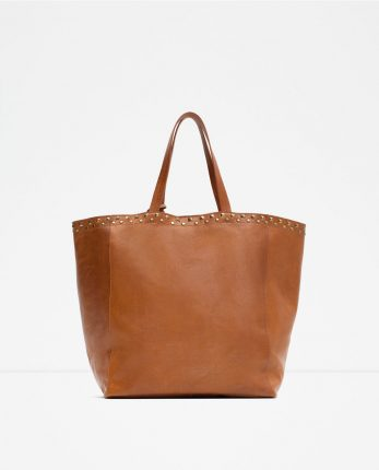 Zara Borse Primavera Estate 2016 Shopper