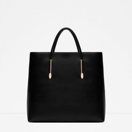 Zara Borse Primavera Estate 2016 Shopper Rigida