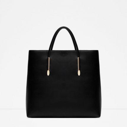 Zara Borse Primavera Estate 2016 Shopper Rigida