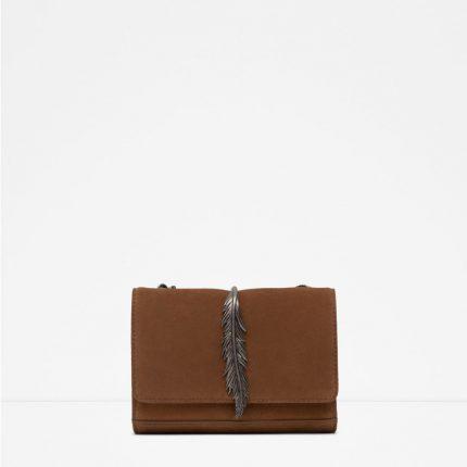 Zara Borse Primavera Estate 2016 Traccolla In Pelle