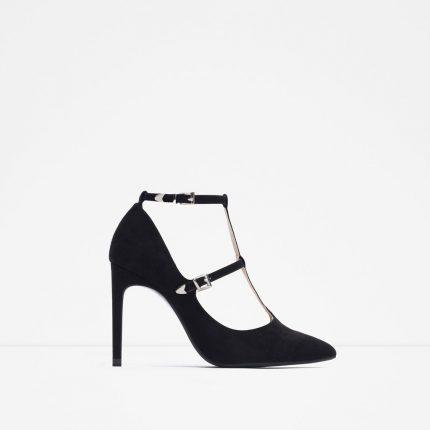 Zara Scarpe Primavera Estate 2016 Decollete Con Cinturino