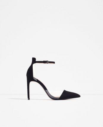 Zara Scarpe Primavera Estate 2016 Decollete Tacco Alto