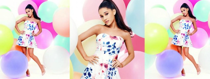 Ariana Grande stilista per Lipsy London
