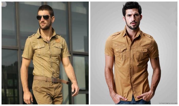 Camicie maschili alla moda