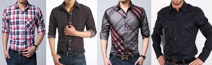 Camicie uomo a quadretti