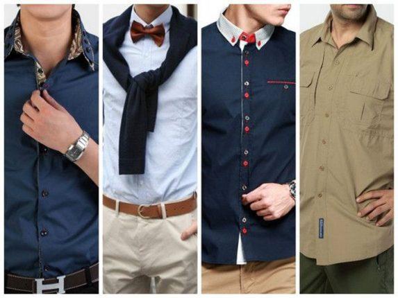 Camicie uomo colorate