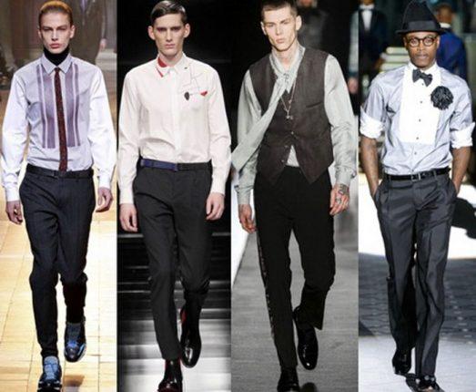 Camicie uomo tendenze moda