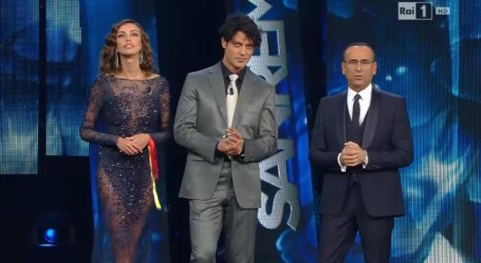 Madalina Ghenea E Gabriel Garco Look Sanremo