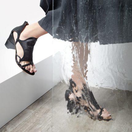 Sandalo Con Tallone Ixos