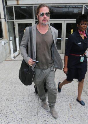 Stile bohemien Brad Pitt