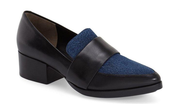 3.1 Phillip Lim Scarpe Quinn Pointy Toe Block Heel Loafer