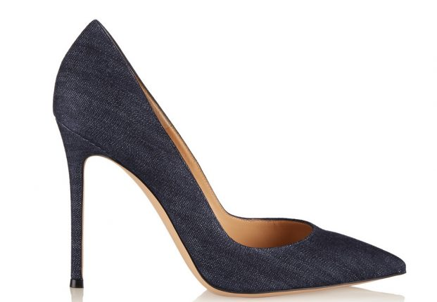 Gianvito Rossi Scarpe Denim Pumps