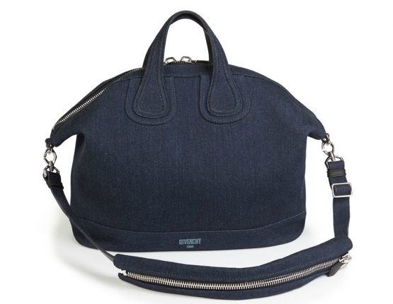 Givenchy Borsa Denim Nightingale Satchel