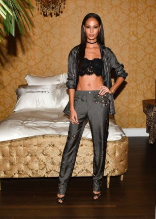 Joan Smalls Dolce Gabbana Pigiama Party