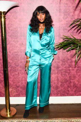 Naomi Campbell Dolce Gabbana Pigiama Party
