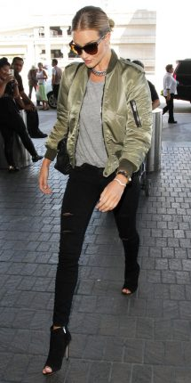 Rosie Huntington Whiteley bomber