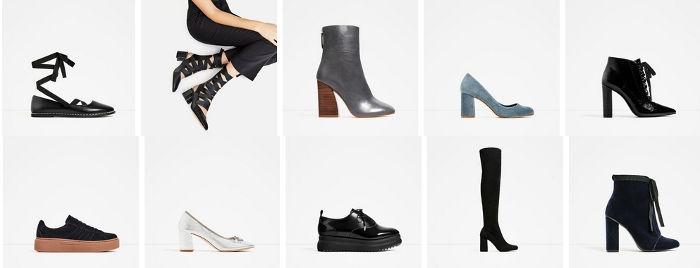 Zara scarpe autunno inverno 2016 2017