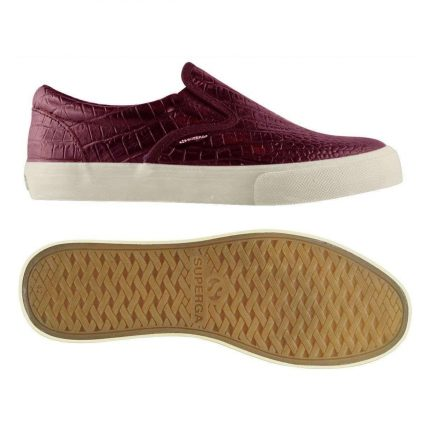 Slip On Burgundy