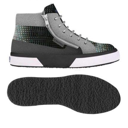 Sneakers Alte Ricamate