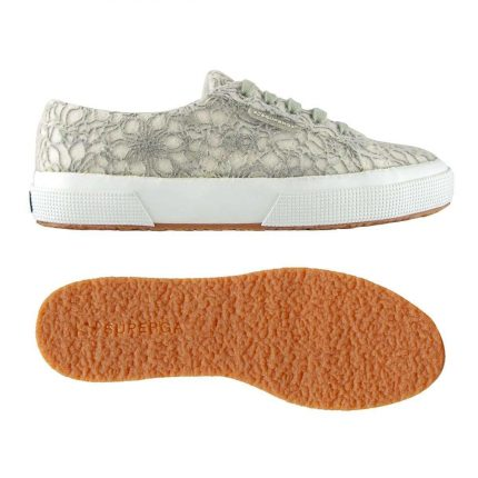 Sneakers Basse Effetto Pizzo