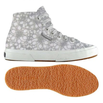 Sneakers Effetto Pizzo