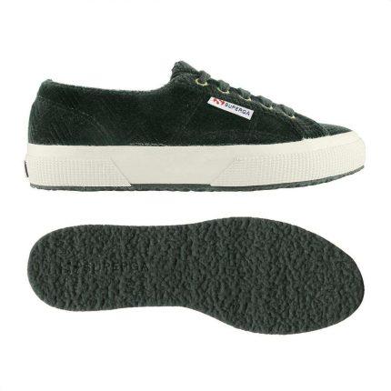 Sneakers Effetto Velluto Superga
