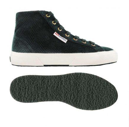 Sneakers Verde Scuro Superga