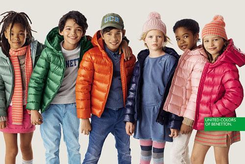 Benetton bambini abbigliamento 2017